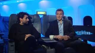 Non Stop Interview Liam Neeson, Jaume Collet-Serra and Daniele Rizzo