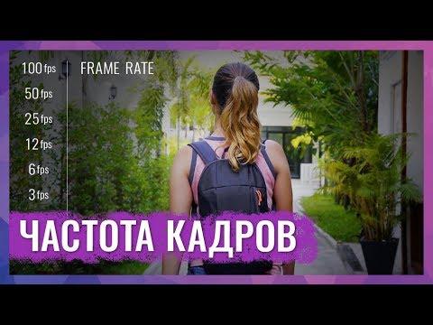 Частота Кадров (Frame Rate). Какую Частоту Кадров Выбрать Для Съемки Видео?