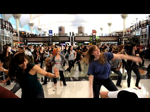 Denver Airport Holiday Flash Mob