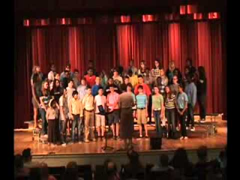 Hartsville Middle School 8th Gr. General Chorus, May 20, 2013