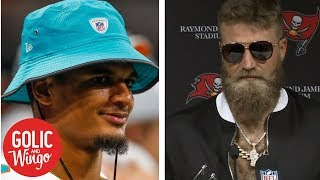 Dolphins' Minkah Fitzpatrick files 'Fitzmagic' trademark application | Golic & Wingo | ESPN