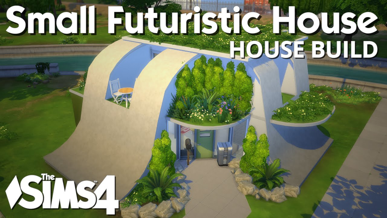 The Sims 4 House Building - Small Futuristic House