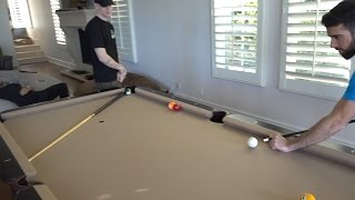 HE HIT A POOL TRICKSHOT FIRST TRY