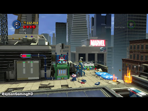LEGO Marvel Super Heroes Walkthrough PART 1 [PS3] Lets Play Gameplay TRUE-HD QUALITY