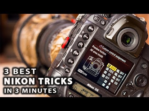 3 BEST NIKON TRICKS in 3 minutes