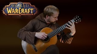 Arthas my son - World of Warcraft (Acoustic Classical Guitar Fingerstyle Tabs Wow Cover)