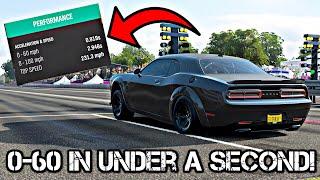 Fastest 0-60Mph Car In Forza Horizon 4?? SRT DEMON