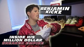 Benjamin Kickz - The 16-year old who turned sneakers into a million dollar job