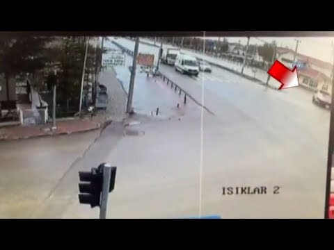 Karaman'daki Feci Kaza Kamerada