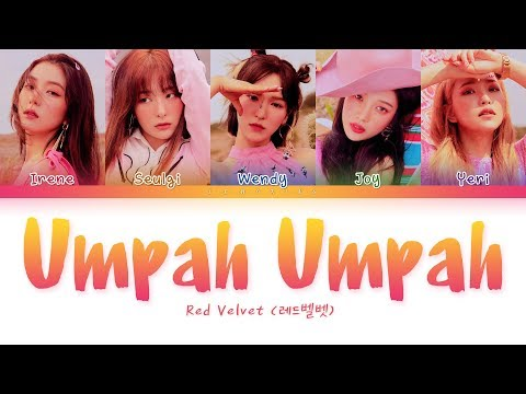 Red Velvet - Umpah Umpah (레드벨벳 - 음파음파) [Color Coded Lyrics/Han/Rom/Eng/가사]