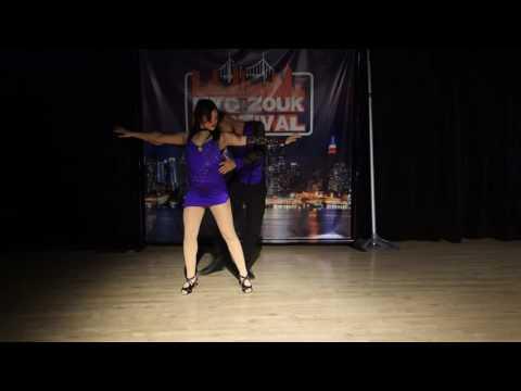 00125 NYCZF2016  Christina Montoya and Igor Fraga ~ video by Zouk Soul