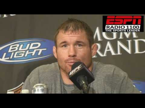 UFC 98 POSTFIGHT MATT HUGHES & MATT SERRA Video