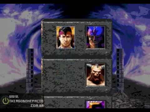 Zerando Ultimate Mortal Kombat 3 (MEGA DRIVE) - Hardest Master - Liu Kang