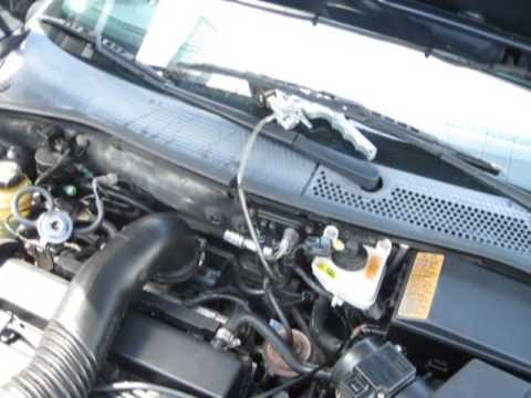 2003 Ford Focus EGR system test