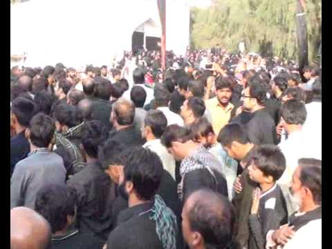 Shia Matmi Jaloos 10 muharam 2014 at  Jhang punjab Pakistan