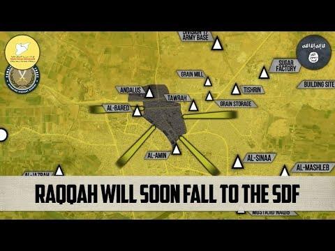 16 октября 2017. Военная обстановка в Сирии. Соглашение между поддерживаемыми США СДС и ИГИЛ.
