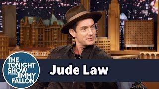 Jude Law Brings Back Wide-Legged Pants