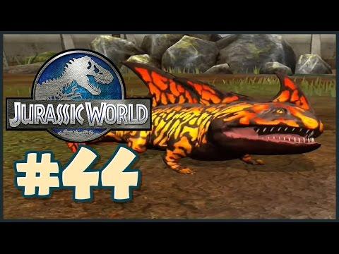 Jurassic World: The Game    THE SALAMANDER    Gameplay Walkthrough Part 44