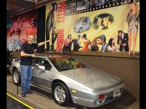 My Car Story with Lou Costabile 1989 Lotus Esprit Julia Roberts Richard Gere drove in Pretty Woman