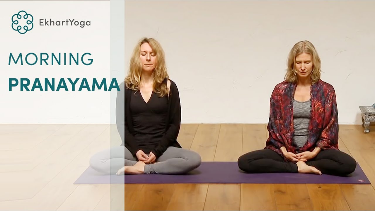 Morning breath exercise to charge your energy system, with Esther Ekhart