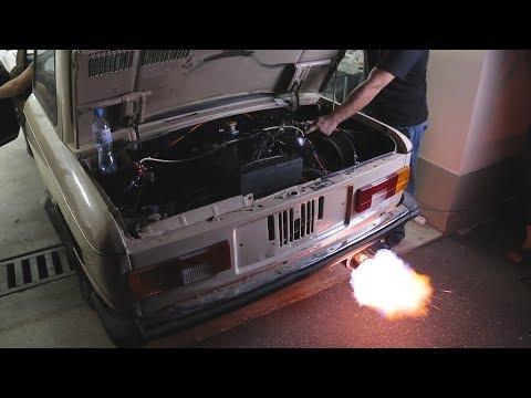 Ставим на Лютый Запорожец 16 клапанный турбо мотор ваз!