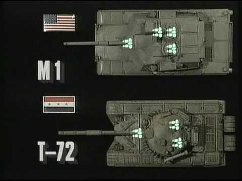 M1 v Iraqi T72 - YouTube