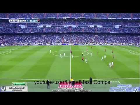 Real Madrid vs Almeria 3 0 LA LIGA 29 4 2015