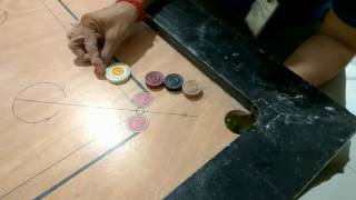 Most Difficult Carrom Board Shot Tried Ever   Carrom Board Trick Shot Compilation