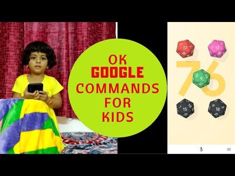 Google Assistant Ok Google Useful Commands for Kids