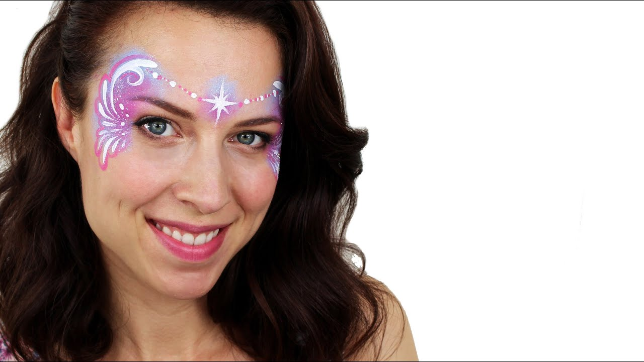 Easy Fairy Face Painting Tutorial Snazaroo YouTube