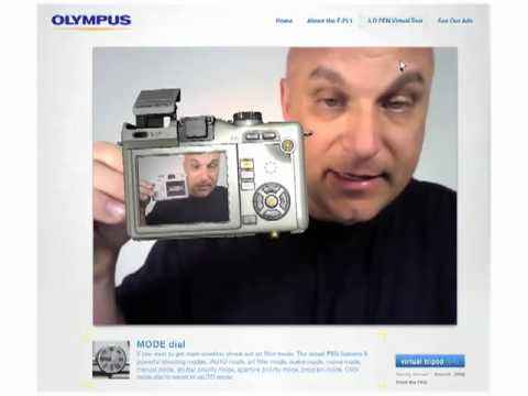 Augmented Reality Olympus PEN E-PL1 3D Demo Video