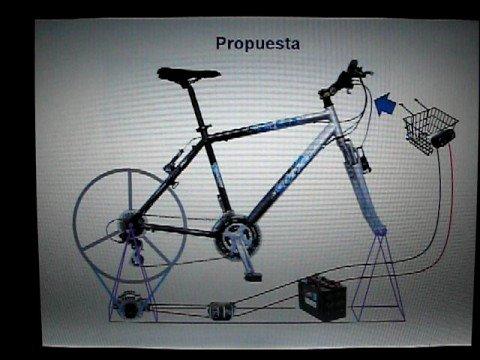 Bicicleta generador de electricidad youtube - Generador de luz ...