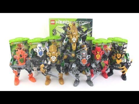 LEGO Hero Factory Savage Planet: Heroes RECAP