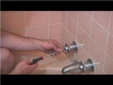 Plumbing Advice: Bathroom & Kitchen : Handling a Leaking Bath Faucet
