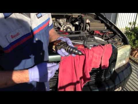 Ford 7.3 Powerstroke no start hot. long crank video