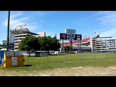 Raymond James Stadium and Steinbrenner field