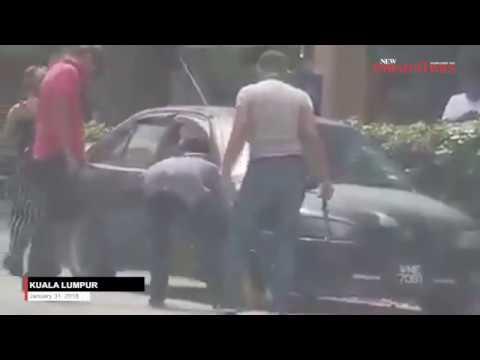 Three men go berserk over clamping in KL