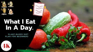 Plant Based Diet Plan for Beginners - What I Eat in a Day | Plant Based