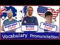 ENGLISH ACCENTS - British - American - Australian
