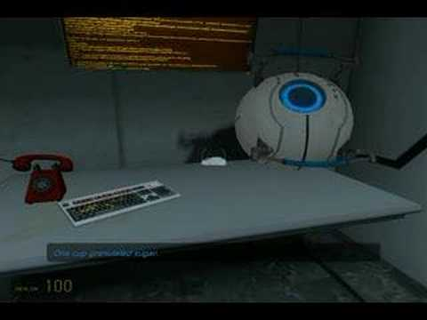 Portal Blue GLaDOS Eye Speech