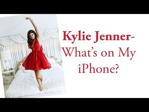 Kylie Jenner - What's on my iPhone?