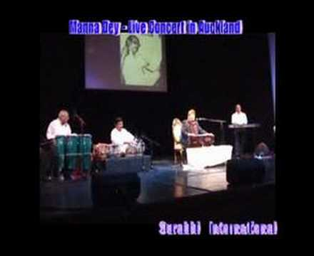 Manna Dey Live In Concert In Auckland, Nz video