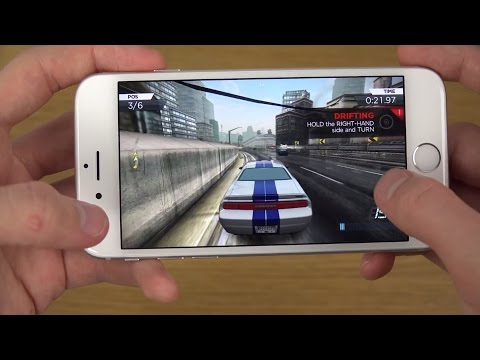 Need For Speed Most Wanted iPhone 6 4K Gameplay Review