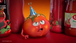 Tổng hợp quảng cáo cà chua vui nhộn hài hước