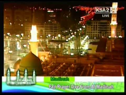 Azaan-E-Fajr and Durood aur Salaam in Masjid-E-Nabawi(S.A.W) part 2 of 2