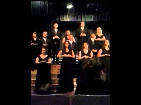 Baxter high school choir famine song