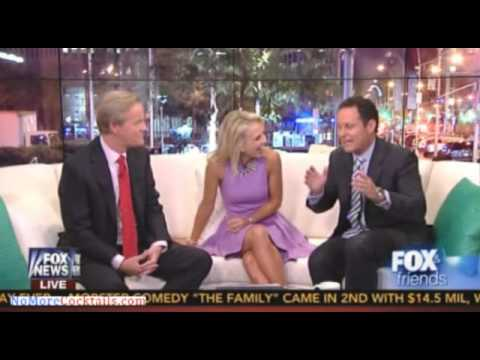 Fox & Friends welcomes Elisabeth Hasselbeck & tours the new set and new curvy couch
