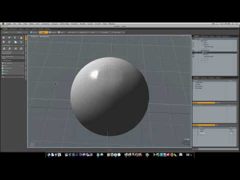 Modo for Noobs : Modeling A Basketball