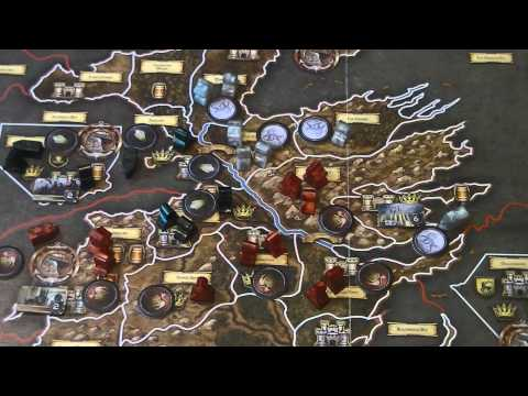 A Game of Thrones Board Game Video Review