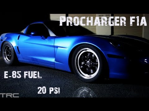 TX2K13 - 915+whp procharged corvette vs The World (10k+whp combined)